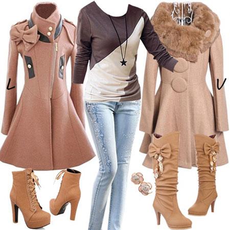 ست لباسهای زمستانی زنانه 2016
